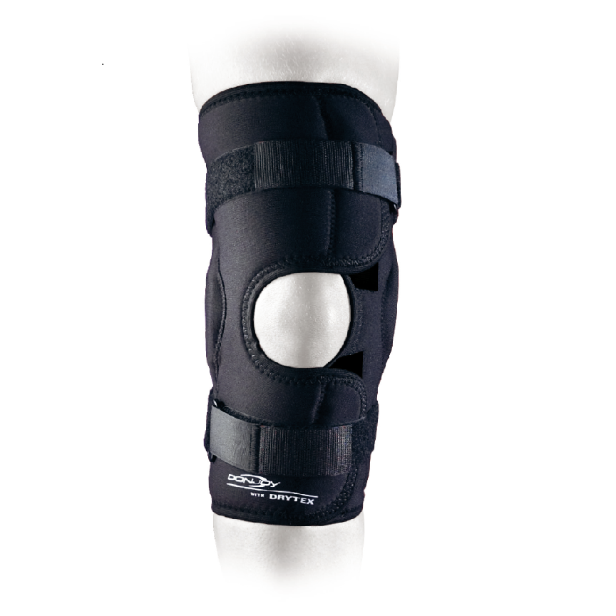 Ortéza DRYTEX ECONOMY HINGED KNEE WRAPAROUND - X-SMALL